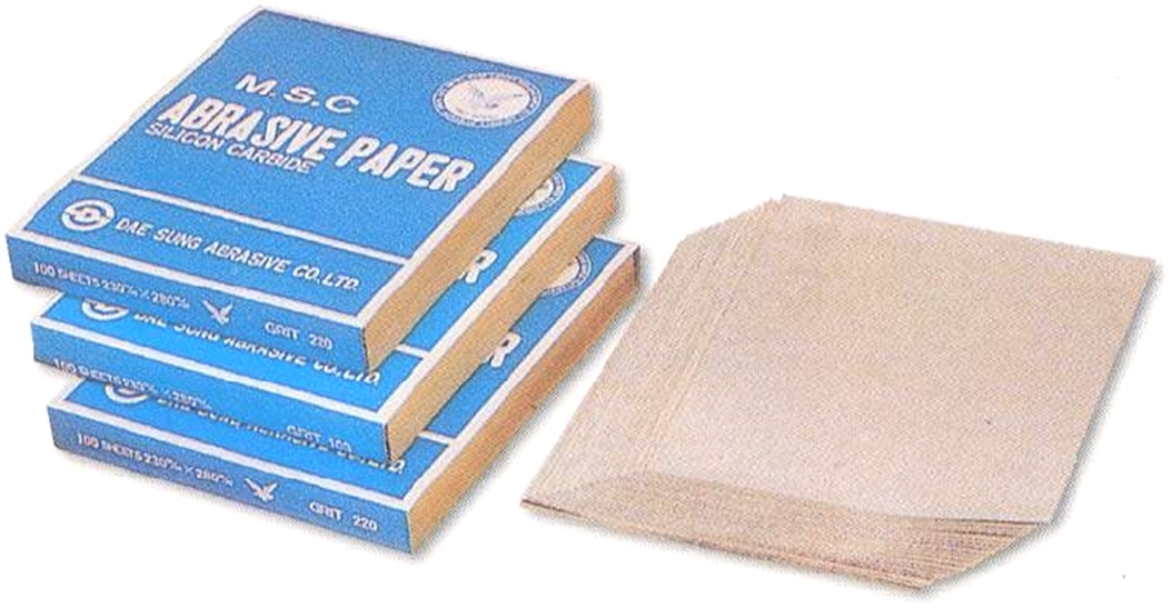 MSC (Metal Soap Coated) Abrasive Paper